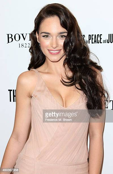 Actress Emanuela Postacchini attends the premiere of Sony Picture Classics' Third Person at the Linwood Dunn Theater Pickford Center for Motion Study...