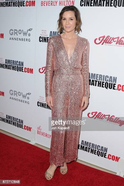 Actress Embeth Davidtz arrives at the 31st Annual American Cinematheque Awards Gala at The Beverly Hilton Hotel on November 10 2017 in Beverly Hills...