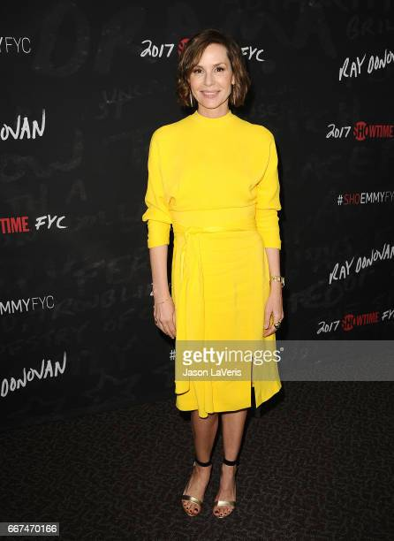 Actress Embeth Davidtz attends Showtime's 'Ray Donovan' season 4 FYC event at DGA Theater on April 11 2017 in Los Angeles California