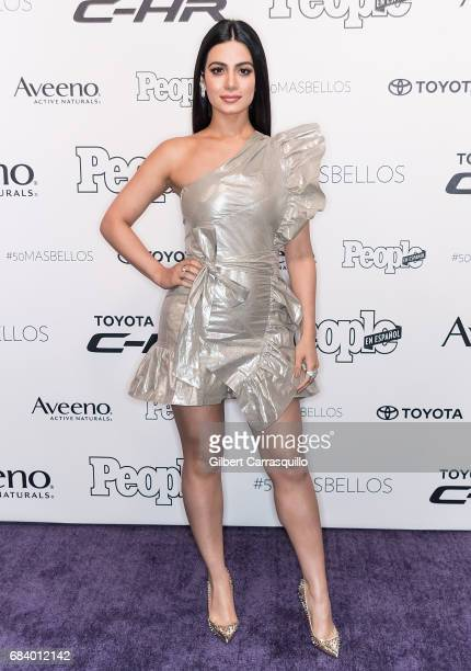 Actress Emeraude Toubia arrives at People en Espanol's 50 Most Beautiful Gala 2017 at Espace on May 16 2017 in New York City
