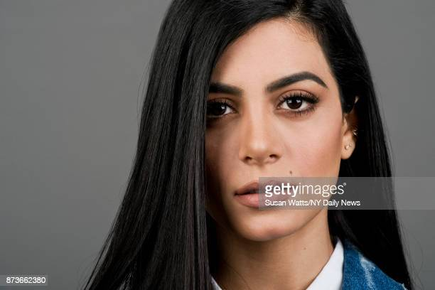 Actress Emeraude Toubia for NY Daily News on May 16 in New York City