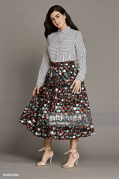 Actress Emeraude Toubia is photographed for Self Assignment on April 27 2016 in Los Angeles California