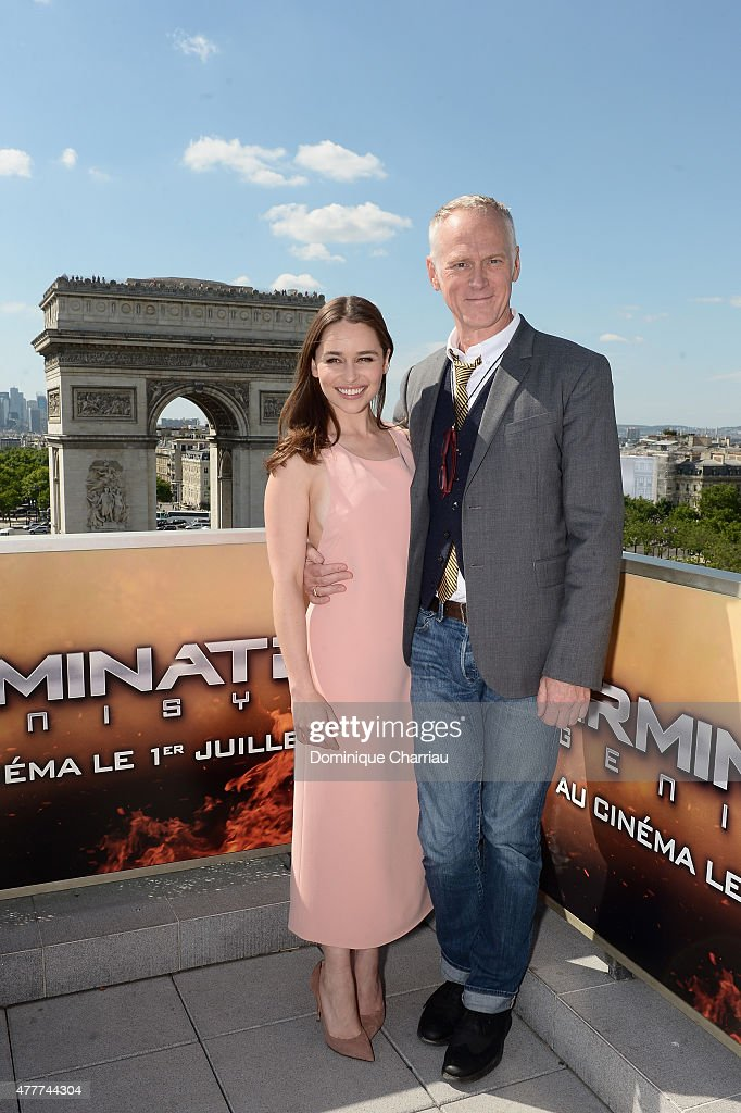 Terminator Genisys France Photocall : News Photo