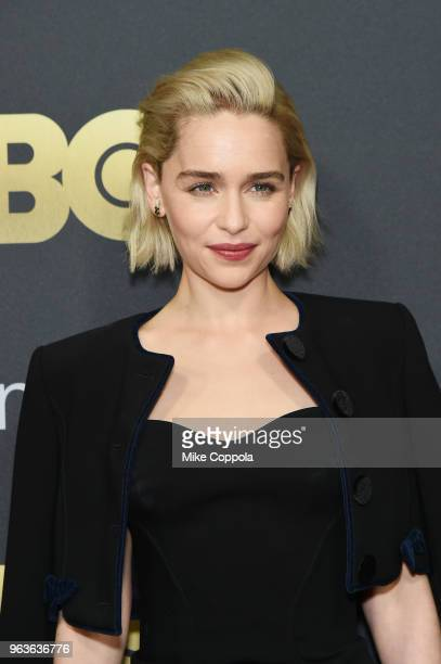 Actress Emilia Clarke attends Lincoln Center's American Songbook Gala at Alice Tully Hall on May 29 2018 in New York City