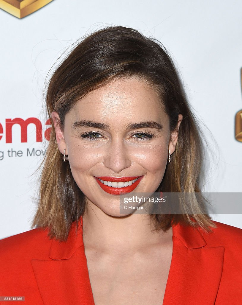 Actress Emilia Clarke attends Warner Bros. Pictures' 'The ...