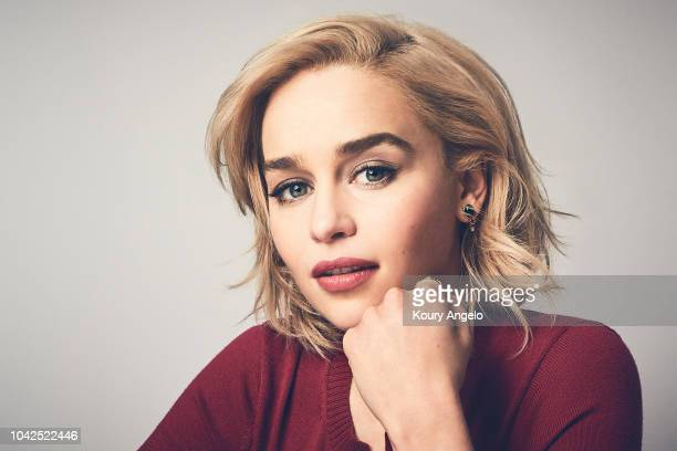 Actress Emilia Clarke is photographed for People Magazine on March 21 2018 in Los Angeles California