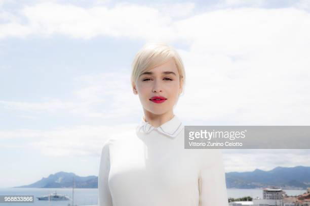Actress Emilia Clarke is photographed on May 15 2018 in Cannes France
