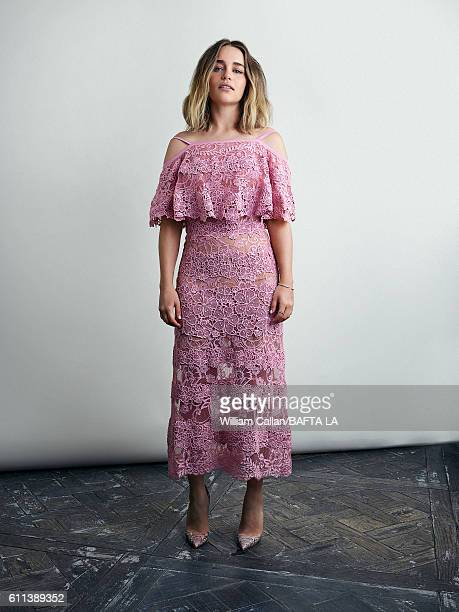Actress Emilia Clarke of HBO's 'Game of Thrones' poses for a portrait BBC America BAFTA Los Angeles TV Tea Party 2016 at the The London Hotel on...