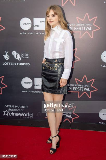 Actress Emilia Jones attends a photocall for the World Premiere of 'Two for joy' during the 72nd Edinburgh International Film Festival at Cineworld...