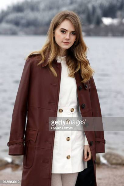 Actress Emilia Jones attends the 25th Gerardmer Fantastic Film Festival on February 3 2018 in Gerardmer France