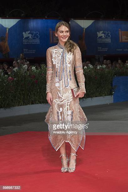 Actress Emilia Jones attends the premiere of the movie Brimstone during 73rd Venice Film Festival at Venice Lido Italy on September 3 2016