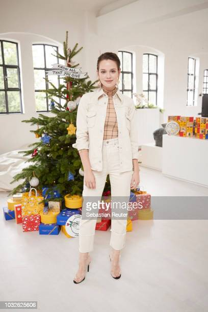 Actress Emilia Schuele attends the L'Occitane press day on September 12 2018 in Hamburg Germany