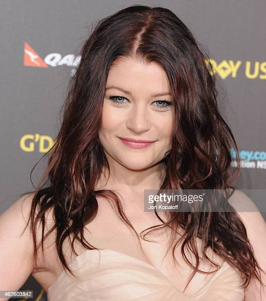 Actress Emilie de Ravin arrives at the 2015 G'Day USA Gala Featuring The AACTA International Awards Presented By Qantas at Hollywood Palladium on...