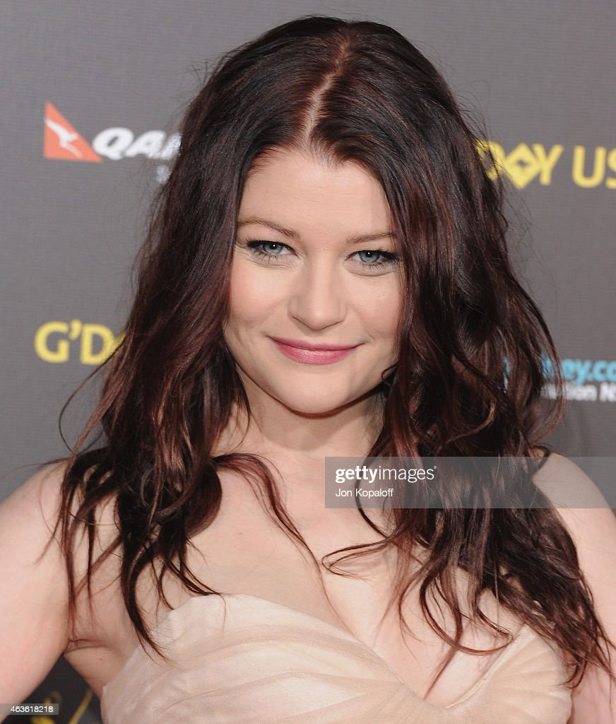 Actress Emilie de Ravin arrives at the 2015 G'Day USA Gala Featuring The AACTA International Awards Presented By Quantas at Hollywood Palladium on January 31, 2015 in Los Angeles, California.