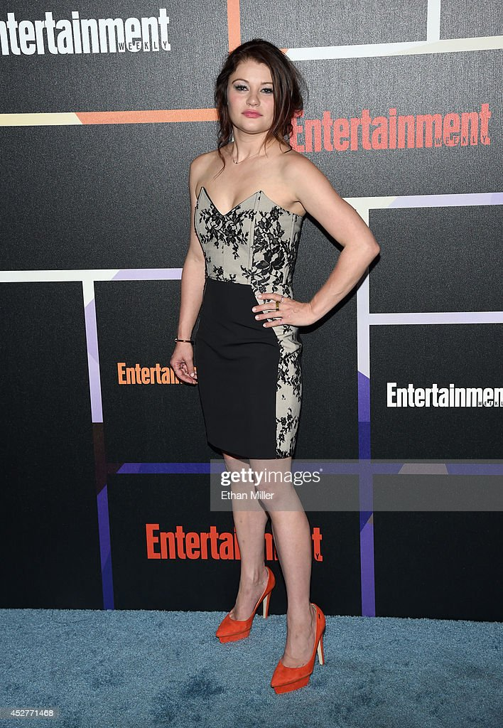 Actress Emilie de Ravin attends Entertainment Weekly's annual Comic-Con celebration at Float at Hard Rock Hotel San Diego on July 26, 2014 in San Diego, California.