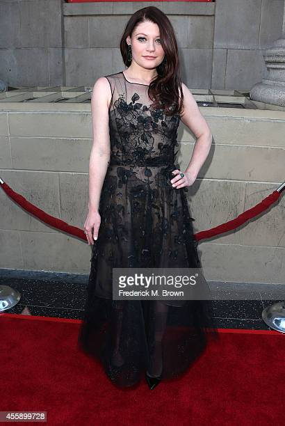 Actress Emilie de Ravin attends the Screening of ABC's 'Once Upon A Time' Season 4 at the El Capitan Theatre on September 21 2014 in Hollywood...