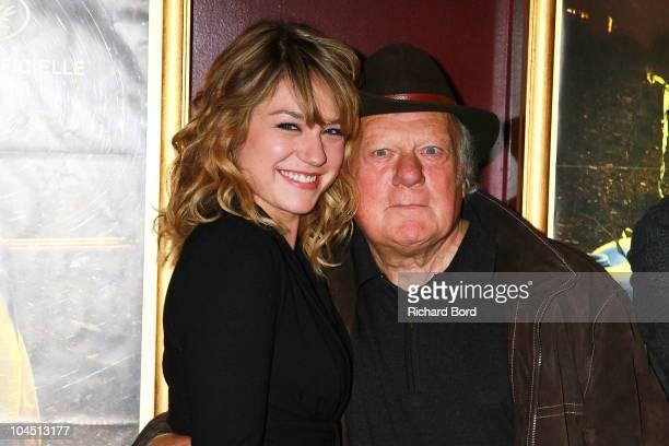 Actress Emilie Dequenne and Philippe Nahon attend 'La Meute' premiere at Cinema Gaumont Marignan on September 28 2010 in Paris France
