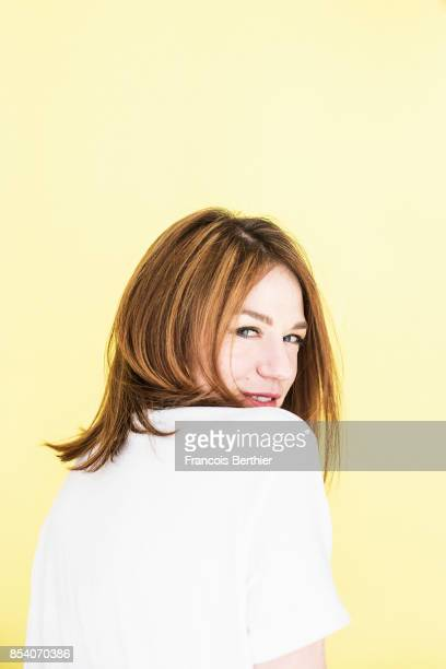 Actress Emilie Dequenne is photographed for Self Assignment on May 10 2017 in Paris France