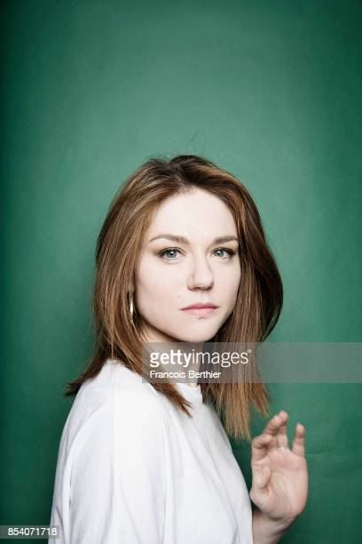 Actress Emilie Dequenne is photographed for Self Assignment on May 10, 2017 in Paris, France.