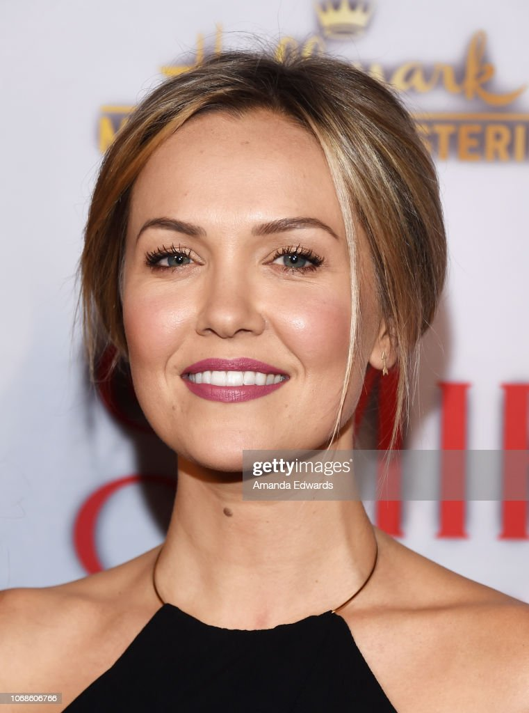 Once Upon A Christmas Miracle.Actress Emilie Ullerup Arrives At The Hallmark Channel Once