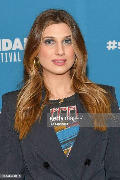 Actress Emily Arlook attends the Big Time Adolescence Premiere during the 2019 Sundance Film Festival at Eccles Center Theatre on January 28 2019 in...