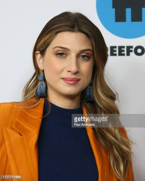 Actress Emily Arlook attends the Disney and ABC Television 2019 TCA Winter press tour at The Langham Huntington Hotel and Spa on February 05 2019 in...
