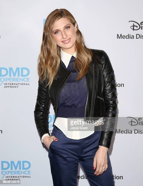 Actress Emily Arlook attends the Disney/ABC International Upfronts at the Walt Disney Studio Lot on May 20 2018 in Burbank California