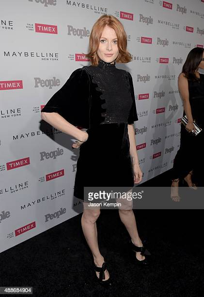 Actress Emily Beecham attends PEOPLE's Ones To Watch Event on September 16 2015 in West Hollywood California