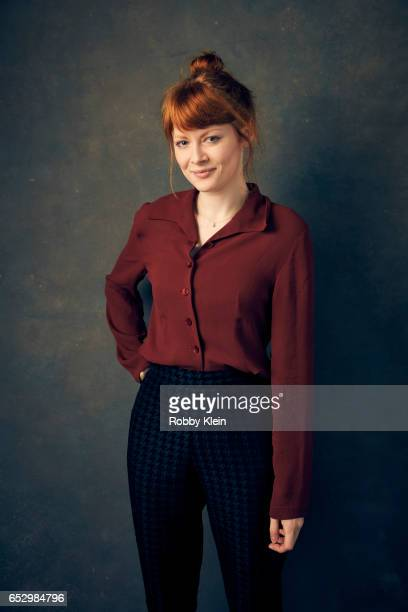 Actress Emily Beecham of 'Daphne' poses for a portrait at The Wrap and Getty Images SxSW Portrait Studio on March 11 2017 in Austin Texas/