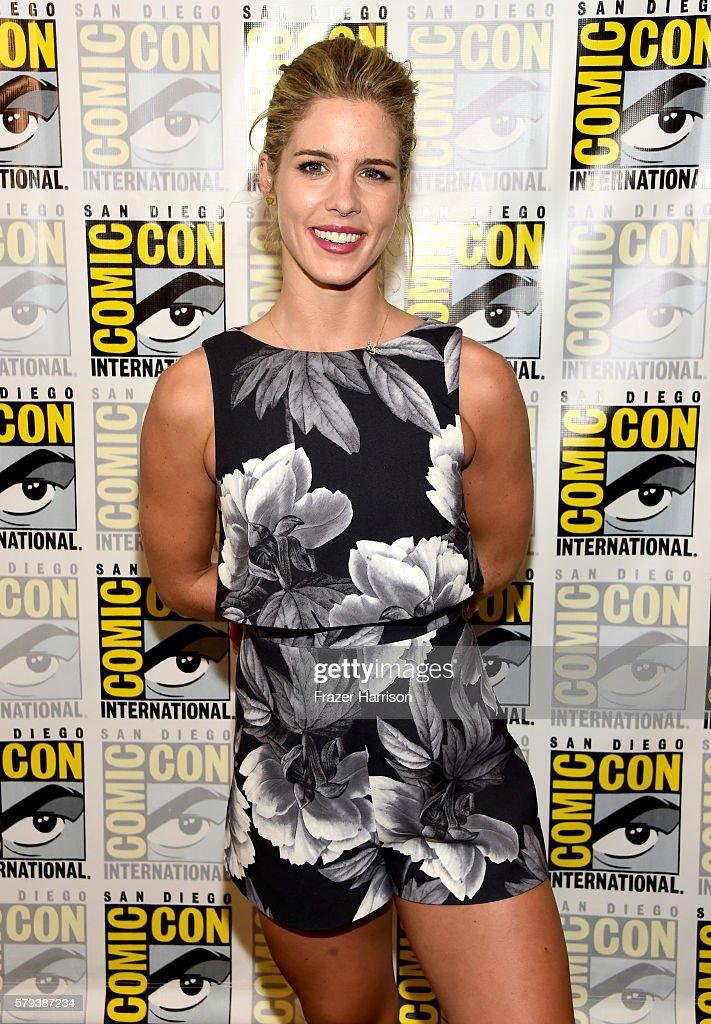 Emily Bett Rickards - Arrow Press Line at Comic Con in San