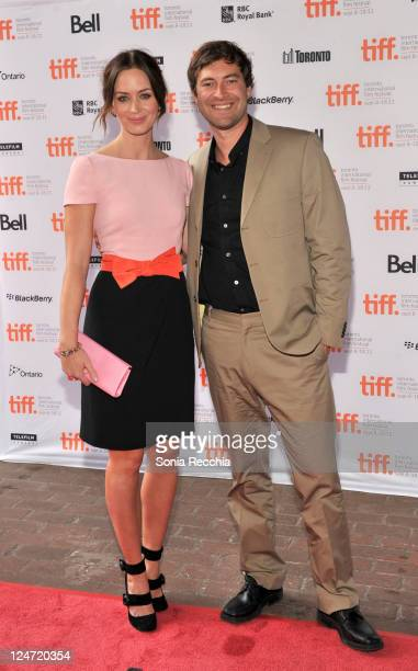 Actress Emily Blunt and actor Mark Duplass arrive at the premiere of Your Sister's Sister at Ryerson Theatre during the 2011 Toronto International...