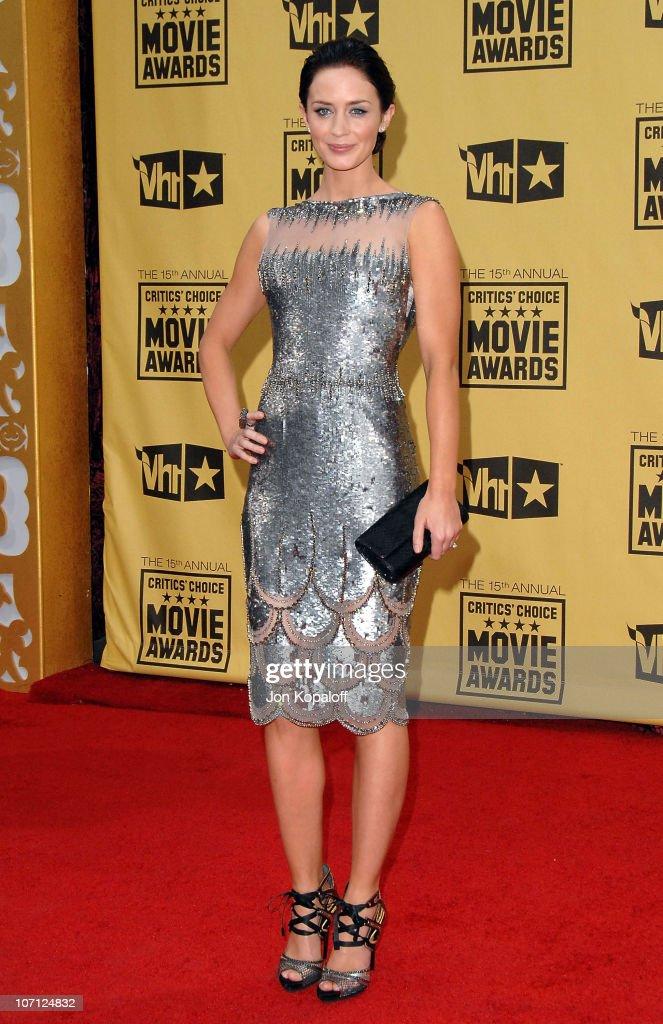 15th Annual Critics' Choice Movie Awards - Arrivals : News Photo