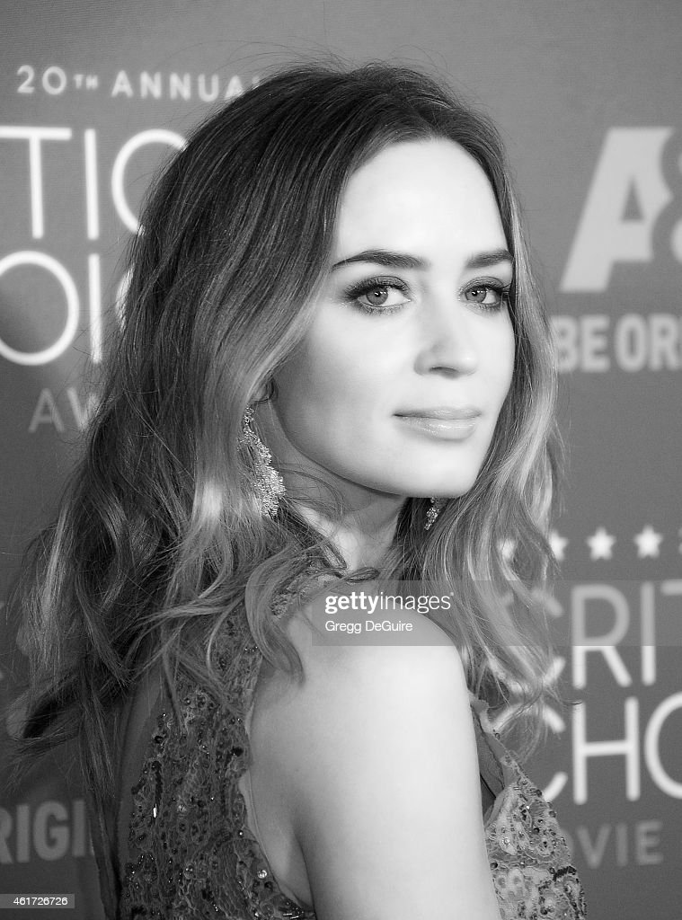 Actress Emily Blunt arrives at the 20th Annual Critics' Choice Movie Awards at Hollywood Palladium on January 15, 2015 in Los Angeles, California.