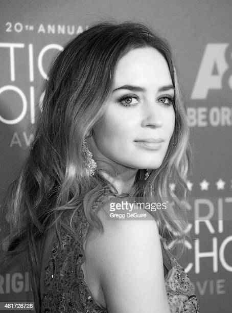 Actress Emily Blunt arrives at the 20th Annual Critics' Choice Movie Awards at Hollywood Palladium on January 15 2015 in Los Angeles California