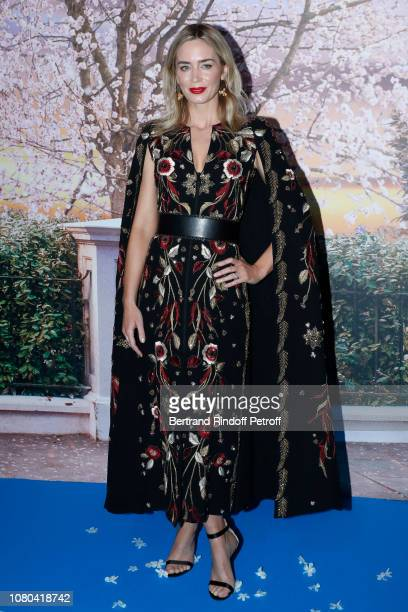"Actress Emily Blunt attends Disney's ""Mary Poppins Returns Paris Gala Screening at UGC Cine Cite Bercy on December 10 2018 in Paris France"