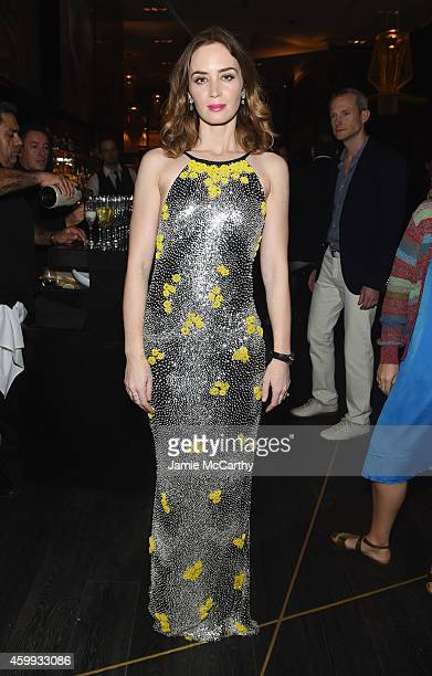 Actress Emily Blunt attends IWC Schaffhausen celebrates 'Timeless Portofino' Gala Event during Art Basel Miami Beach to mark the Launch of the new...