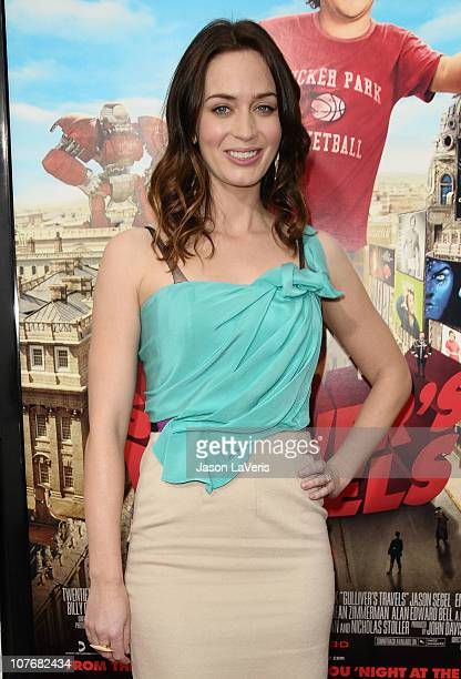 Actress Emily Blunt attends the premiere of 'Gulliver's Travels' at Grauman's Chinese Theatre on December 18 2010 in Hollywood California