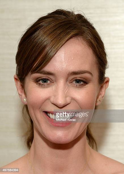 Actress Emily Blunt attends the 'Sicario' Luncheon on November 17 2015 in Los Angeles California