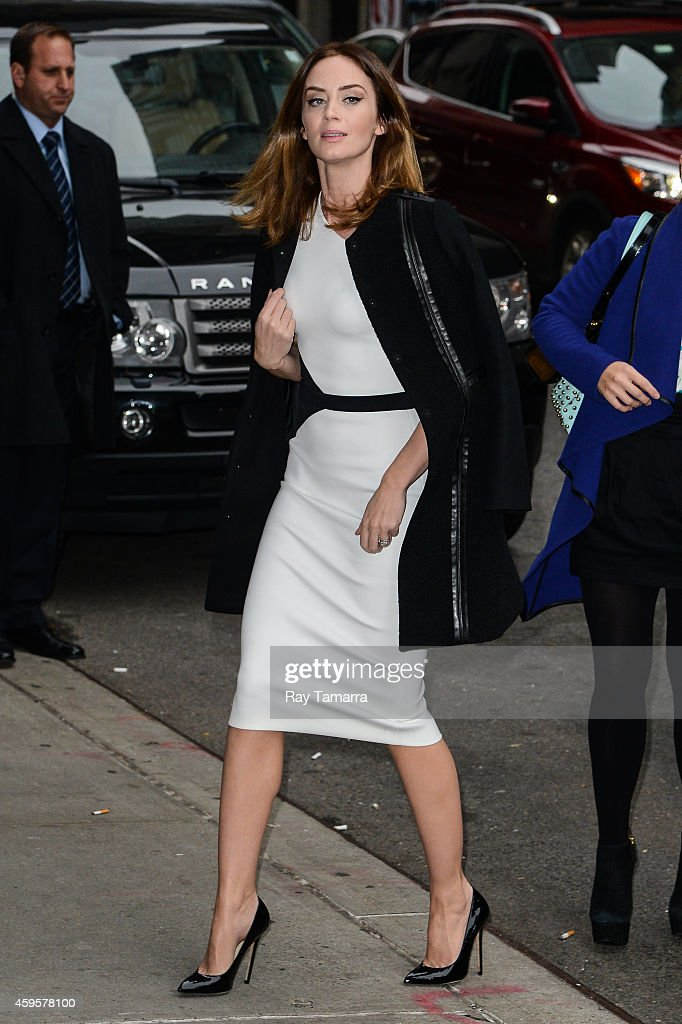 "Celebrities Visit ""Late Show With David Letterman"" - November 25, 2014 : News Photo"