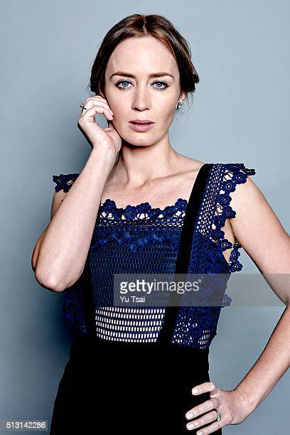 Actress Emily Blunt is photographed at the Toronto Film Festival for Variety on September 12 2015 in Toronto Ontario
