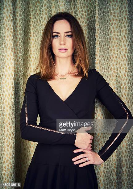 Actress Emily Blunt is photographed for Back Stage on November 25 2014 in New York City