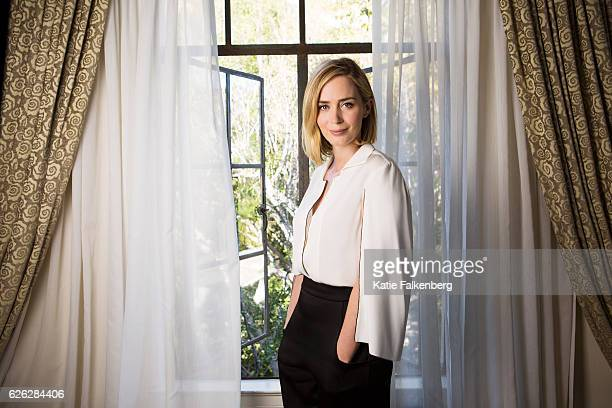 Actress Emily Blunt is photographed for Los Angeles Times on September 30 2016 in Los Angeles California PUBLISHED IMAGE CREDIT MUST READ Katie...