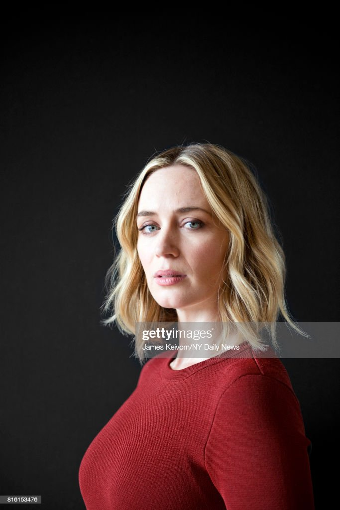 Actress Emily Blunt photographed for NY Daily News on September 26, 2016, in New York City.