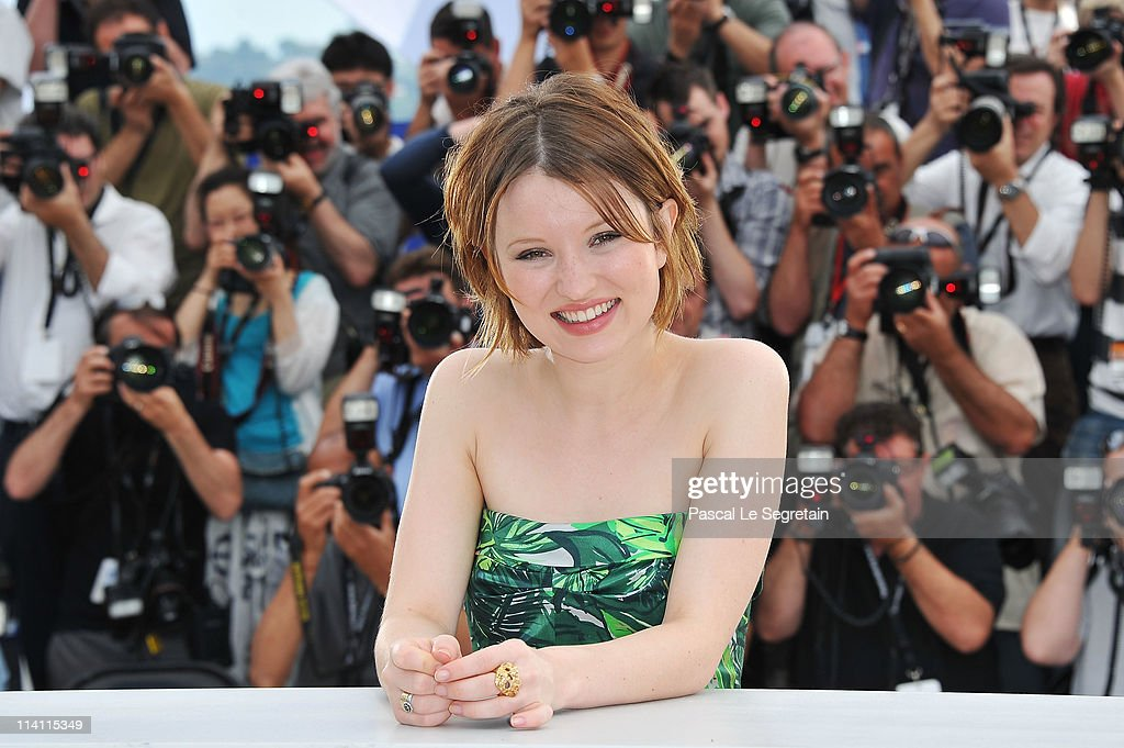 Actress Emily Browning Attends The Sleeping Beauty Photocall During The 64th Annual Cannes Film