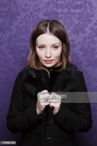 Actress Emily Browning is photographed for Los Angeles Times on January 18 2014 in Park City Utah PUBLISHED IMAGE CREDIT MUST READ Jay L...