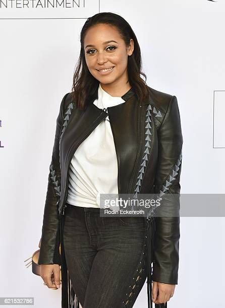 Actress Emily Cheree attends the screening of Lesin Films' Nowhereland at The Egyptian Theatre on November 6 2016 in Los Angeles California