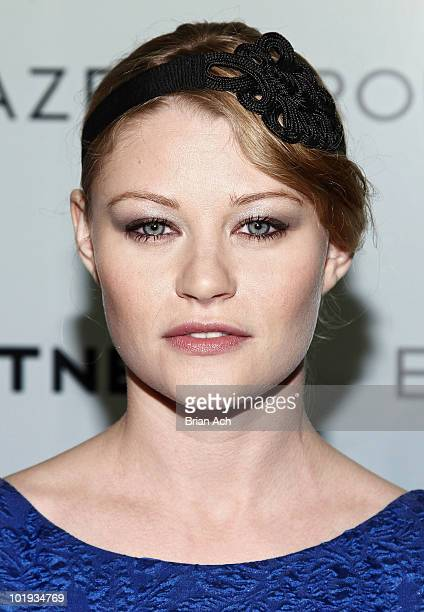 Actress Emily de Ravin attends the 2010 Whitney Art Party at 82 Mercer on June 9 2010 in New York City