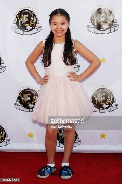 Actress Emily Delahunty attends the 2nd Annual Young Entertainer Awards at the Globe Theatre on March 19 2017 in Universal City California