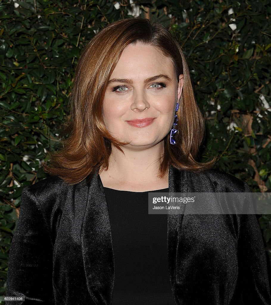 Actress Emily Deschanel attends Farm Sanctuary's 30th anniversary gala at the Beverly Wilshire Four Seasons Hotel on November 12, 2016 in Beverly Hills, California.