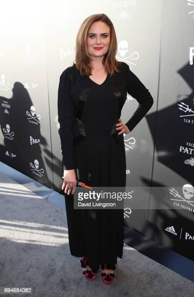 Actress Emily Deschanel attends Shepherd Conservation Society's 40th Anniversary Gala For The Oceans at Montage Beverly Hills on June 10 2017 in...